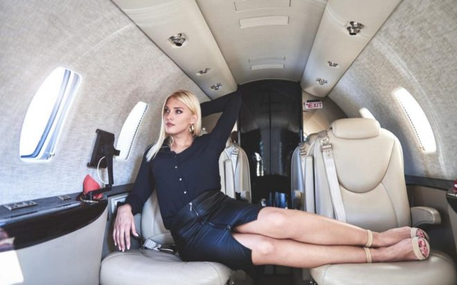 grounded private jet for hire helps russians fake lavish lifestyles