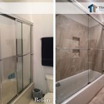 guest bathroom remodeling before and after updates tub and