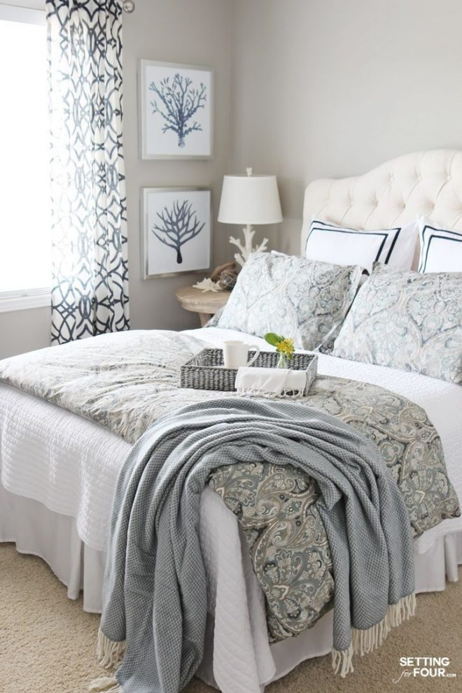 guest room refresh bedroom decor bhg home blogger contributor