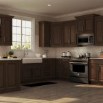 hampton wall kitchen cabinets in cognac kitchen the home