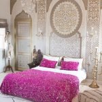 handiras and a dreamy tale of glamorous moroccan bedroom