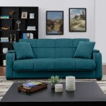 handy living sophia storage arm convert a couch sleeper sofa