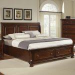 harrington king storage bed with sleigh headboard