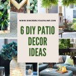 here are 6 diy patio decor ideas to brighten your outdoor