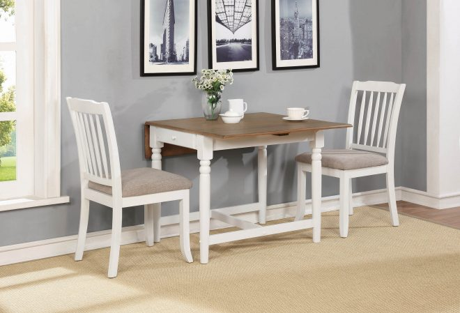 hesperia cottage white dining table atl all the luxury
