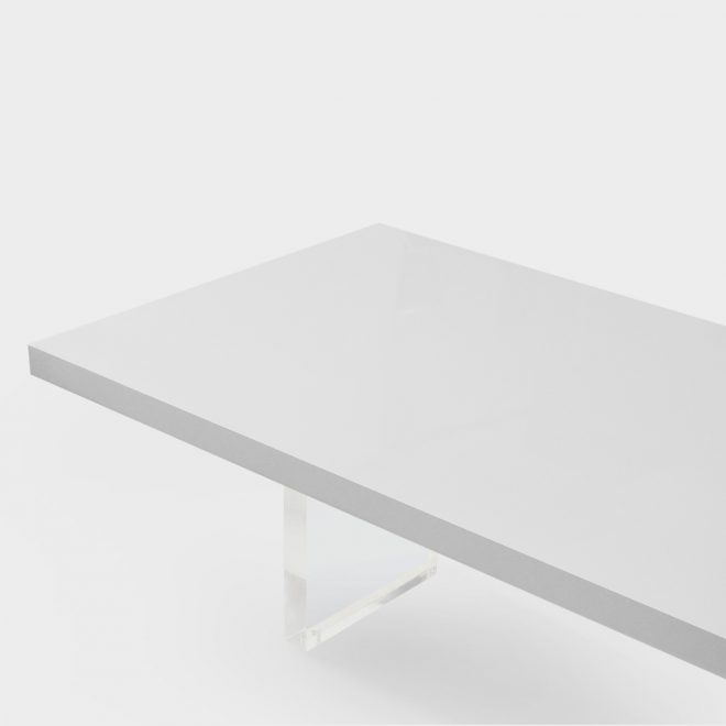high gloss white lacquer dining table rotsen furniture