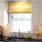 home ideas for modern kitchen curtains over sink remodel