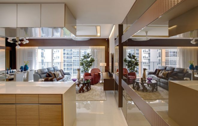 home tour this fashion inspired apartment displays the