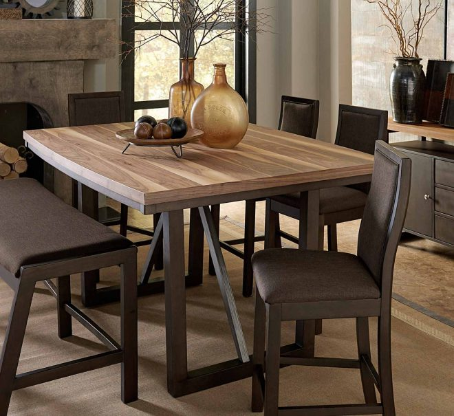 homelegance compson counter height table