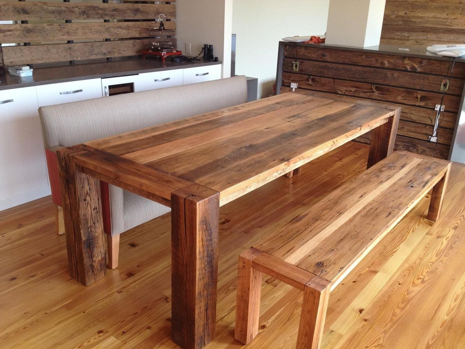 homemade dining room table is also a kind of homemade wood dining