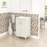 hot item 2019 hot selling factory customized modern pvc bathroom cabinet with new design
