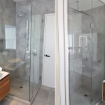 hot item china supplier frameless modern glass panel door bathroom shower enclosure glass door