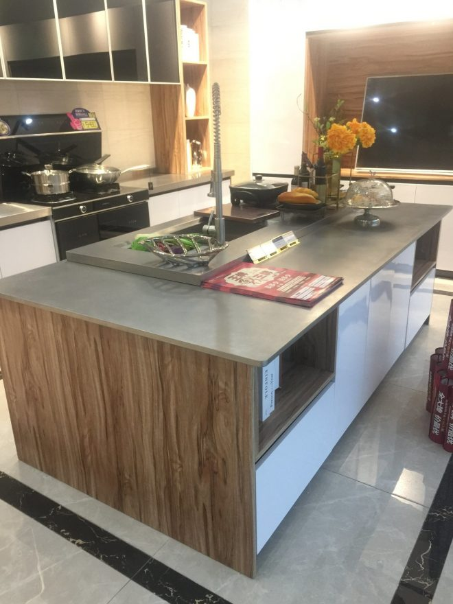 hot item stainless steel modern lacquer kitchen cabinet furniture