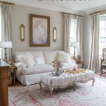 how i modernized my french style living room with 4 simple