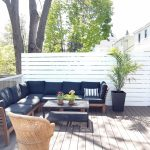 how to build a privacy screen for your deck the sweetest digs