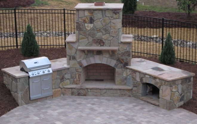 how to build an outdoor fireplace step step guide