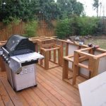 how to build an outdoor kitchen and bbq island grill station