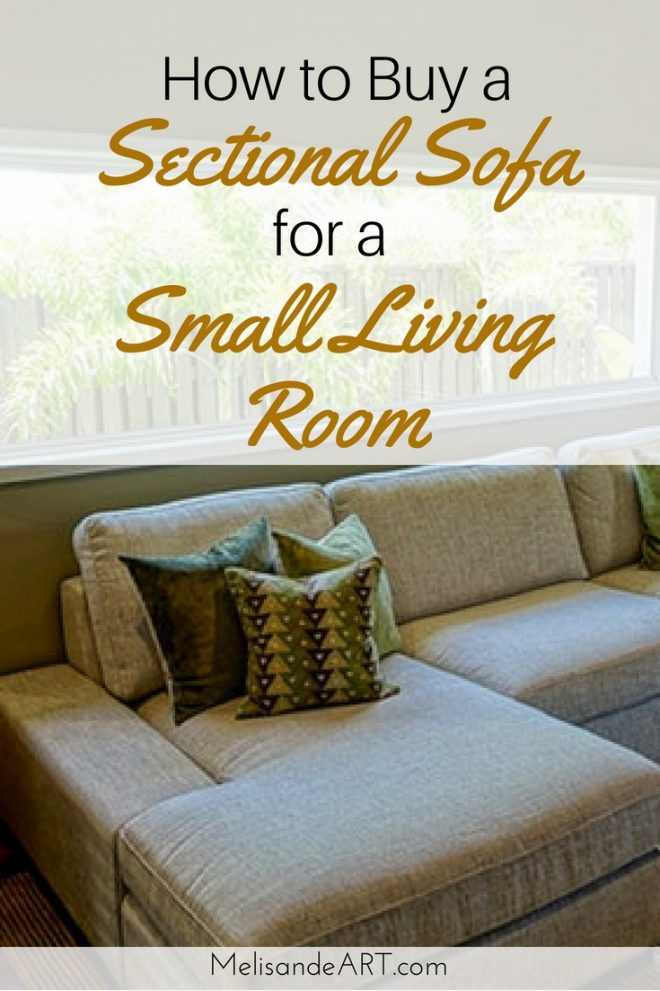 how to buy a sectional sofa for a small living room