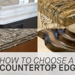 how to choose an edge for your countertop marble youtube