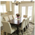 how to correctly measure for a dining room table rug rugs dining