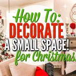how to decorate a small space for christmas christmas clean and decorate with me love meg