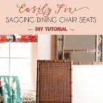 how to fix a sagging dining chair seat ideas for tondra