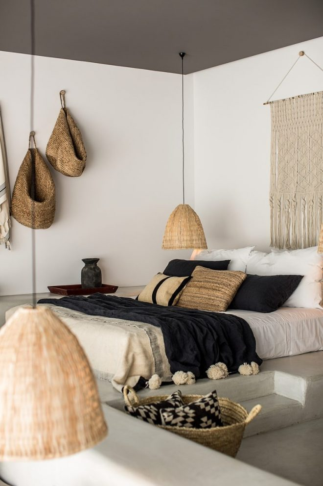 how to get the bohemian aesthetic in your bedroom simply grove