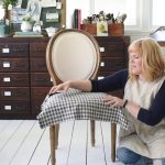how to make dining chair slipcovers tie on with rufflepleated skirt