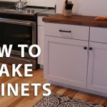 how to make diy kitchen cabinets youtube