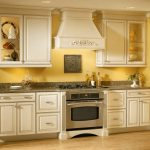 how to make mustard yellow in your small kitchen dcor