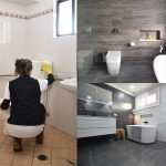 how to make your new bathroom easy to clean design 5 tips ats