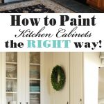 how to paint kitchen cabinets a step step guide confessions
