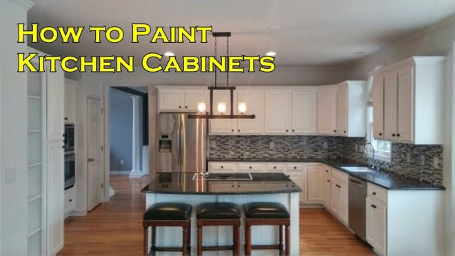 how to paint kitchen cabinets with a sprayer not a brush and roller