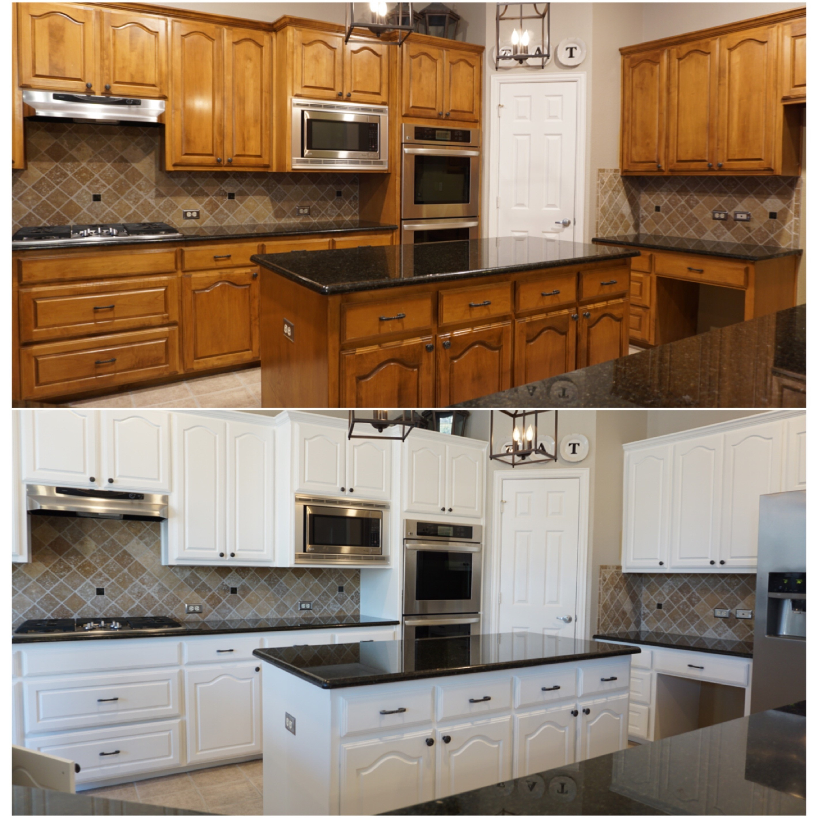 how to paint wooden kitchen cabinets white