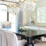how to place the perfect chandelier in your dining room