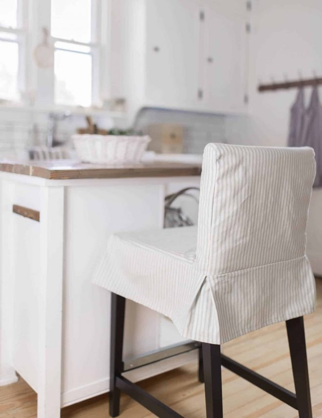 how to sew a parsons chair slipcover for the ikea henriksdal
