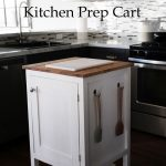 how to small kitchen island prep cart with compost