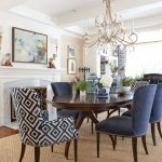 i love the fabric on those blue chairs college hill pinterest