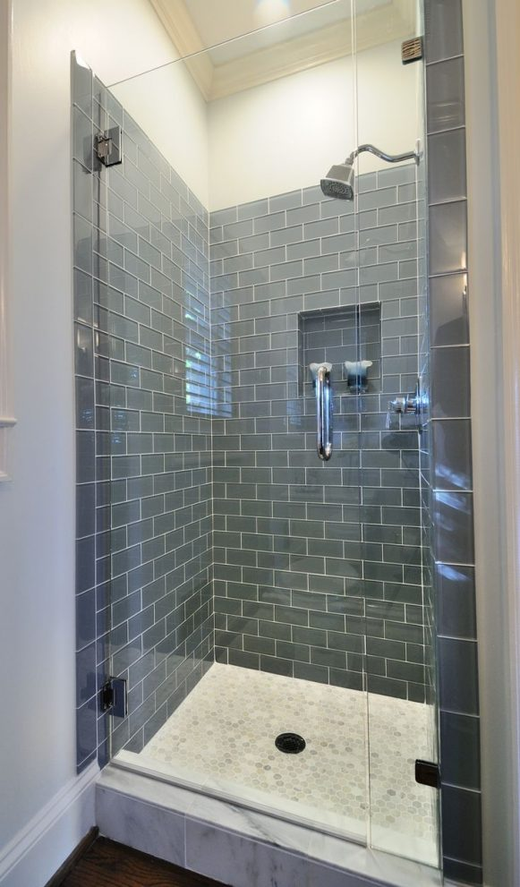 ice gray glass subway tile for the home so fresh and so clean