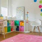 idea for colorful designed unisex kids room stock photo picture and