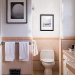 ideas for decorating a dated tiled bathroom apartment therapy