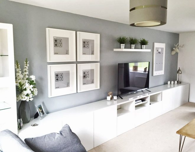 ikea best living room tv unit picture frames ribba white grey