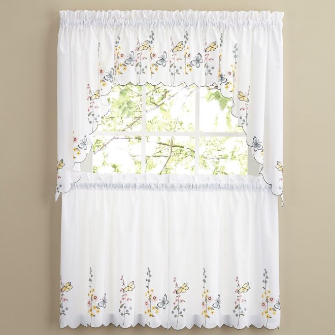 image 3004 from post sheer kitchen curtains with 2 tier also 100