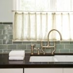 image result for 1920s kitchen tile backsplash green