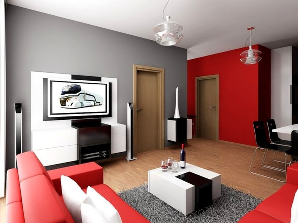 image result for red living room ideas pictures colors