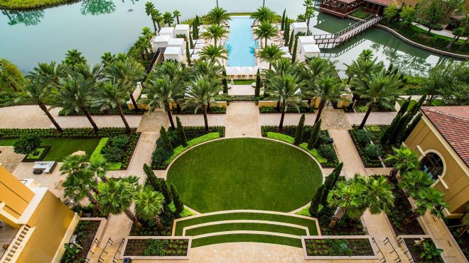 image result for the best resorts with the best landscaping