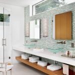 image result for windows above bathroom vanity bathroom