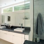 image result for windows over bathroom vanity bathroom
