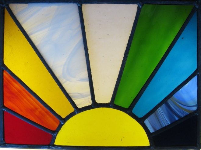 images for simple stained glass patterns for beginners