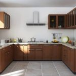 indian modular kitchen design u shape youtube in 2019